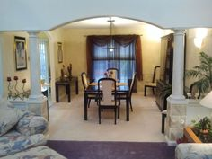 Love the #archway into #dining room in this #Lebanon PA home