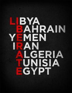 Word play. Arab Spring...