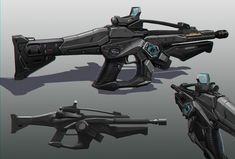 Chen Liang - Concept artist - Weapons design for Gears of War 4 - http://meuploads.com/2016/02/27/scorpion-game-illustrated-edition-is-coming-this-summer/