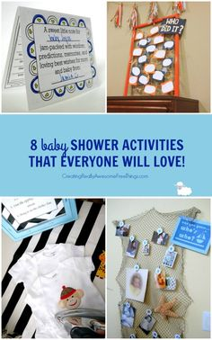 Baby Shower Games that everyone will love!