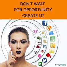 Don't wait for Opportunity, Create It!  For more......... follow me on Instagram xx
