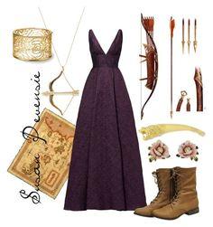 Designer Clothes, Shoes & Bags for Women Susan Pevensie, Lucy Pevensie, Narnia, Medieval Princess, Disney Bounding, Fandom Outfits, Sydney Evan, Monique Lhuillier, Alternative Outfits