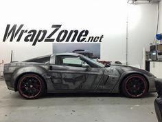 Silver Corvette Z06
