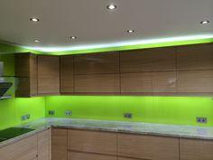 Kitchen LED Glass Splashback