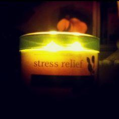 One of the best Bath&Body Works scents: Stress Relief; Eucalyptus Spearmint