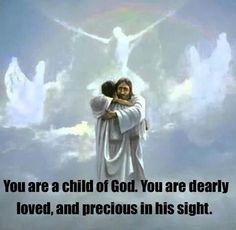 Child of god I am