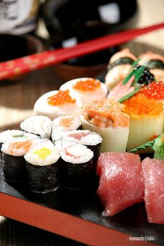 Sushi is my favorite.