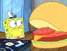krabby patty in person | Real Life Spongebob Cafe!? I Want A Krabby Patty! | moviepilot.com