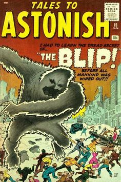 Tales to Astonish Issue # 1 (Marvel Comics) Sci Fi Comics, Old Comics, Horror Comics, Marvel Comic Books, Vintage Comics, Comic Book Characters, Comic Character, Creepy Comics, Silver Age Comics