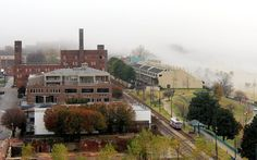One foggy afternoon by Carlos Figueroa on Capture Memphis // The old and the new - downtown Memphis