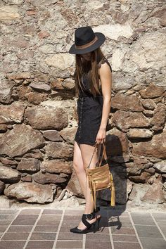 """Travel brings power and love back to your life."" Rumi  Stretta Leather Crossbody - Gold Metallic #Embrazio"