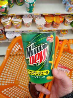 There Are Mountain Dew Cheetos In Japan.