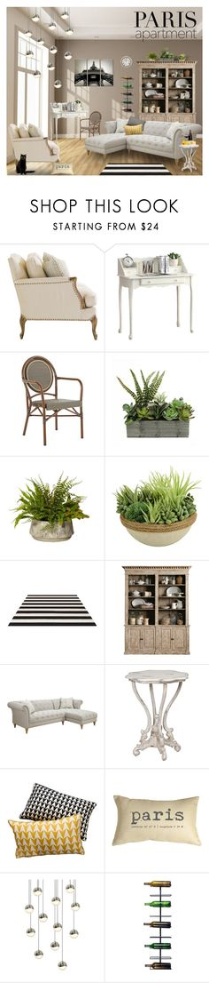 """""""Pardon My French"""" by jennie-bo-bennie ❤ liked on Polyvore featuring interior, interiors, interior design, home, home decor, interior decorating, Monarch, Pier 1 Imports, Picnic at Ascot and Emerald Home Furnishings"""