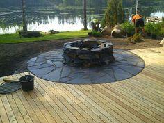 Fire Pit Landscaping, Garden Fire Pit, Summer Kitchen, Outdoor Living, Outdoor Decor, Garden Structures, Garden Planters, Outdoor Projects, Garden Inspiration