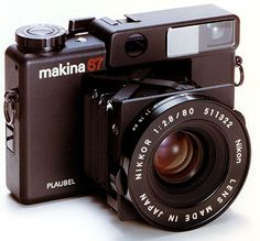 makina plaubel 67 with nikon 80mm 2.8  ...prone to get fungus on the viewfinder, lightleaks and unstable lightmeter... a beauty nonetheless!  inspiration: Araki himself...