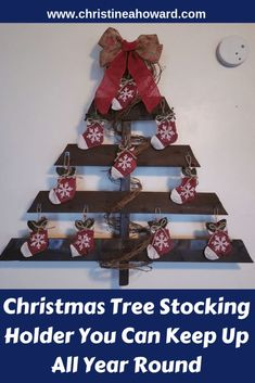 Christmas Tree Stocking Holder You Can Keep Up All Year Round Creative Christmas Gifts, Easy Christmas Decorations, Holiday Crafts, Holiday Decor, Christmas Post, Simple Christmas, Christmas Tree, Easy Easter Crafts, Diy Crafts