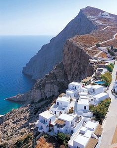 Greece Travel Inspiration - Folegandros, Greece, Folegandros is a small Greek island in the Aegean Sea which, together with Sikinos, Ios, Anafi and Santorini, forms the southern part of the Cyclades.