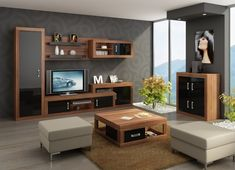 Living Room Furniture collection ''Verin including a high quality TV Cabinet, Storage Unit, Wall Cabinet, Bookshelf and a Cabinet(Optional Sideboard and Co Living Room Colors, Small Living Rooms, Living Room Sets, Rugs In Living Room, Living Room Furniture, Living Room Decor, Furniture Sets, Living Room Sectional, Living Room Carpet