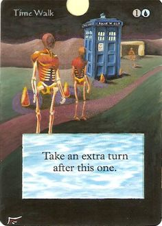 Doctor Who Time Walk MtG Card Alter