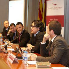 From left to right: Malcolm Bain, Javier Ribas, Marc Gericó, Álvaro Écija and Miquel Fortuny.
