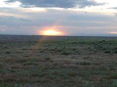 Sunset driving back to Vernal from Fantasy Canyon. #FantasyCanyon #VisitUtah #VisitDinosaurland #Dinosaurland #VernalUtah #Utah