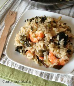 Desde hace tiempo, las algas son un ingrediente que poco a poco se ha ido incorporando a mi cocina. Las he probado en diferentes preparacion...
