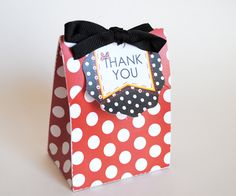 Minnie Mouse Favor Tag