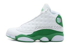 MENS AIR JD 13 RETRO RAY ALLEN THREE-POINT RECORD WHITE/CLOVER SALE FOR SPRING, Only$79.00 , Free Shipping! http://www.jordanse.com/mens-air-jd-13-retro-ray-allen-threepoint-record-white-clover-sale-for-spring.html