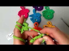 Háčkovaný zajíček - velikonoční dekorace z wixx makarony™ - YouTube