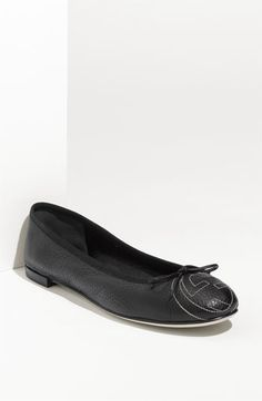 Gucci 'Soho' Ballerina Flat - perfect for spring