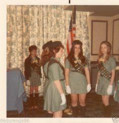 Vintage Photograph 1973 Girls Scouts   eBay
