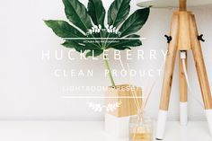 //HUCKLEBERRY// HUCKLEBERRY Clean Minimal Product Lightroom presets Perfect for Flat Lay, Product, Interior and Minimal Photography. Clear and clean color are exactly what you need for your item's Product Preview images You can create your own signature style of photo editing with these presets. //5 Color Presets: Normal, Light, Moody, Texture,