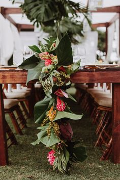 Floral designs inspired by Hawaii's nature- by Paiko founder Tamara Rigney. Weddings, events, weekly accounts, and editorials. Honolulu Wedding, Hawaii Wedding, Floral Wedding, Fall Wedding, Wedding Flowers, Rose Wedding, Wedding Colors, Dream Wedding, Tropical Table Runners