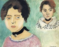 Henri Matisse, Two women  on ArtStack #henri-matisse #art