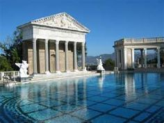 Hearst Castle in San Simeon - a favorite place with Bill, my sweetie.
