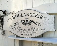 PATISSERIE FRENCH PASTRY Sign/Bakery by kimburcreations on Etsy