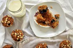 Blueberry Oat Muffins (Vegan)