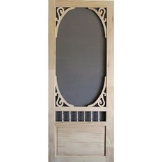 Incroyable Screen Tight Screen Door WGWD36CAN Finger Joint (Common: 36x 80; Actual: 36