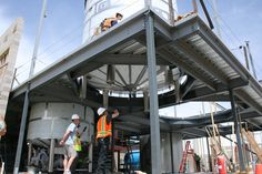 New brewhouse installation