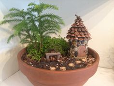 Create you own fairy garden by BlackSquirrelStudios on Etsy