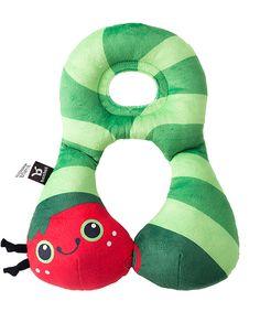 Loving this BenBat Green Caterpillar Travel Friends Head & Neck Support Pillow on #zulily! #zulilyfinds