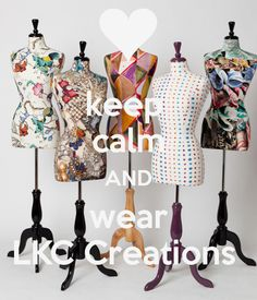 keep calm AND wear LKC Creations