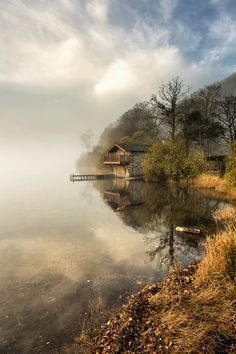 https://flic.kr/p/AVXAfu   The Duke Of Portland   Another take on the iconic 'Duke Of Portland' boathouse on Ullswater... but this is my take! I waited quite a while to get this shot so when I rocked up at sunrise, bypassing the amazing cloud inversion on the way down to the lake and wondering whether I'd made a massive mistake, I arrived to find the mist and light was perfect on my intended subject ...And thus a happy ending. I hope you enjoy my take.. ~Kathy  #TheEyeSeesWhatTheMindBelieves