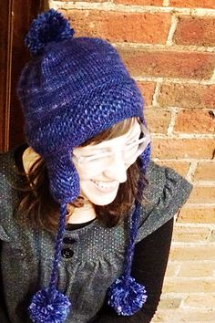 ecdf342a8b7 Ravelry  Polar Vortex Hat pattern by Carly Stipe