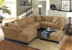 Cindy Crawford Metropolis Peat 4Pc Sectional Living Room. $2,399.98.  Find affordable Living Room Sets for your home that will complement the rest of your furniture.