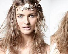 Hippie - Pense celta ou Druid e você tem uma boa idéia do que olhar para este penteado quer alcançar. Uma coroa de flores será um toque agradável, e às vezes até mesmo fio trançado ou fio. Para fazer esse penteado ainda mais especial, você pode fazer um tranças soltas poucos em seu cabelo. Você também pode adicionar nós e voltas antes de adicionar a banda cabeça de flor como um toque final.