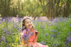 Spring Family Photography in Surrey bluebells