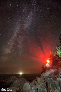 The Lookout - Acadia National Park, Maine - www.jackfusco.com