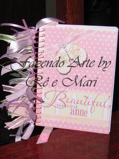 Caderneta de mensagens personalizada