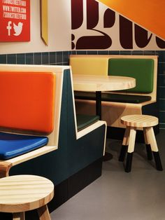Koncept Stockholm have recently completed SOOK, a fast food restaurant located in Täby, an area outside of Stockholm, Sweden.